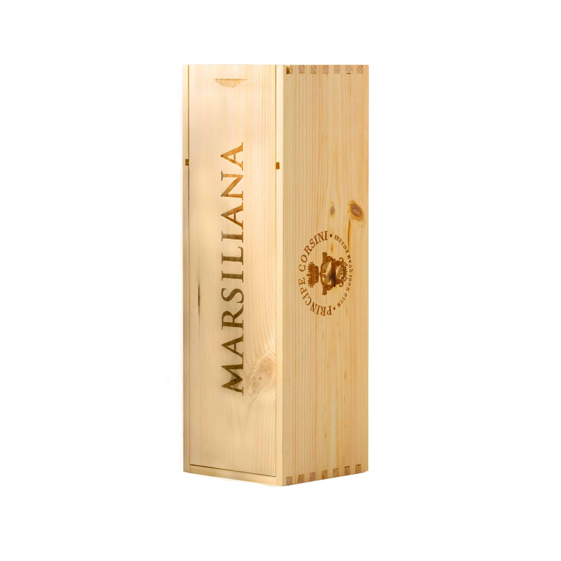 Wooden Box for Magnum bottle 1,5 L Marsiliana