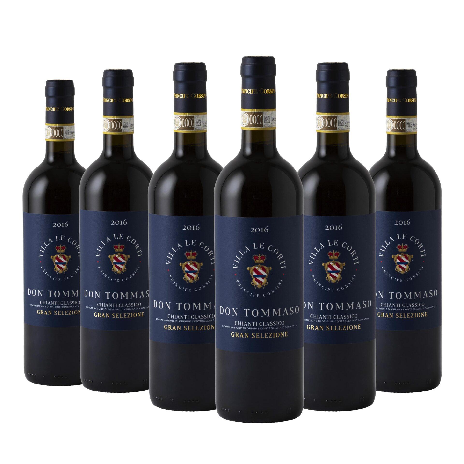 6 x Don Tommaso Chianti Classico Gran Selezione DOCG