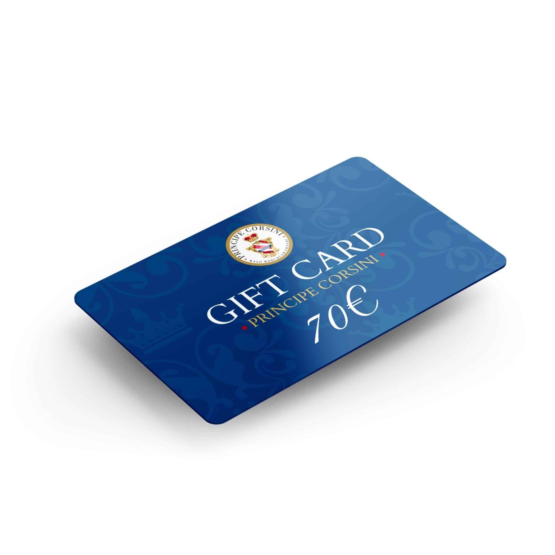 Gift Card singola
