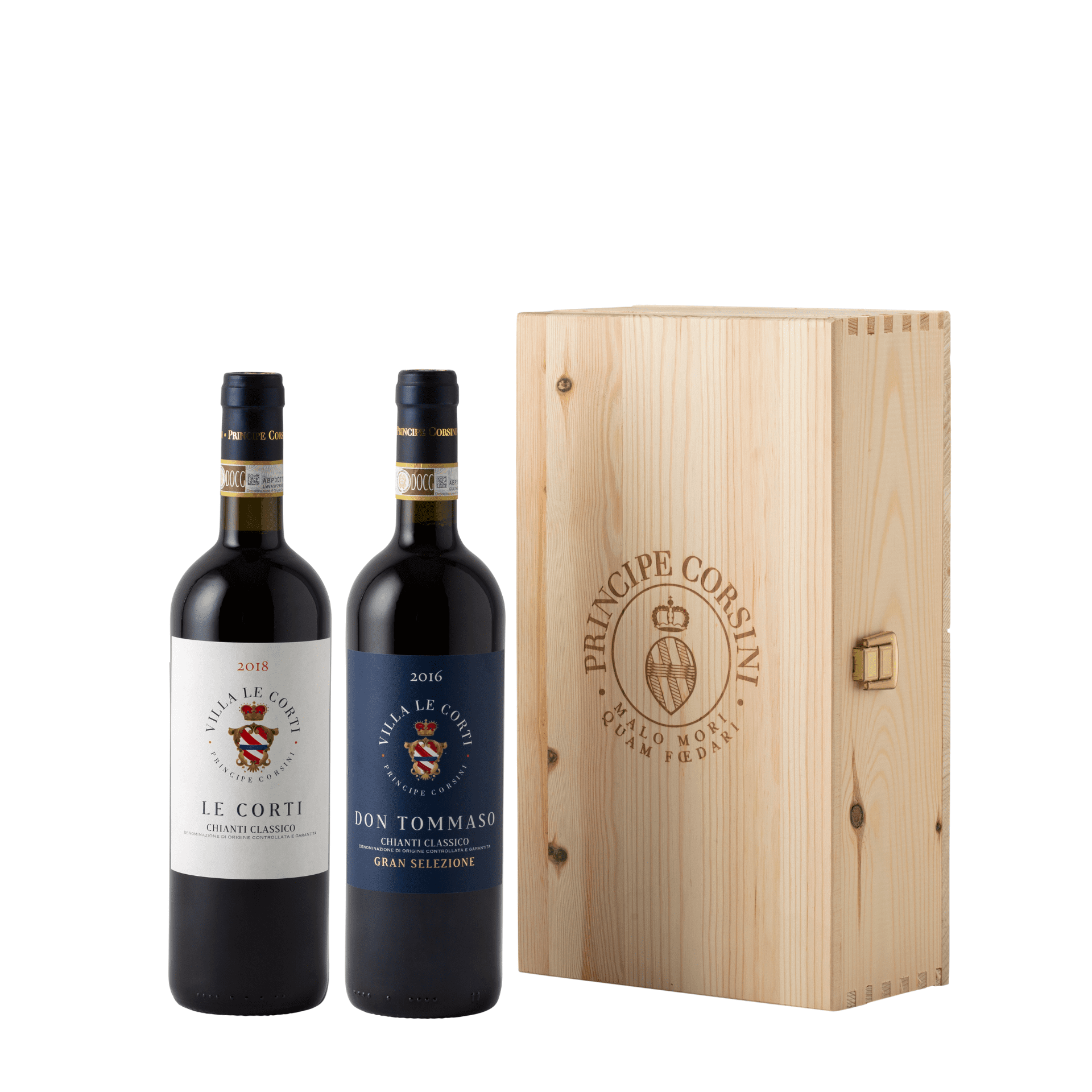 Don Tommaso 2016 + Le Corti 2018 + Wooden Box