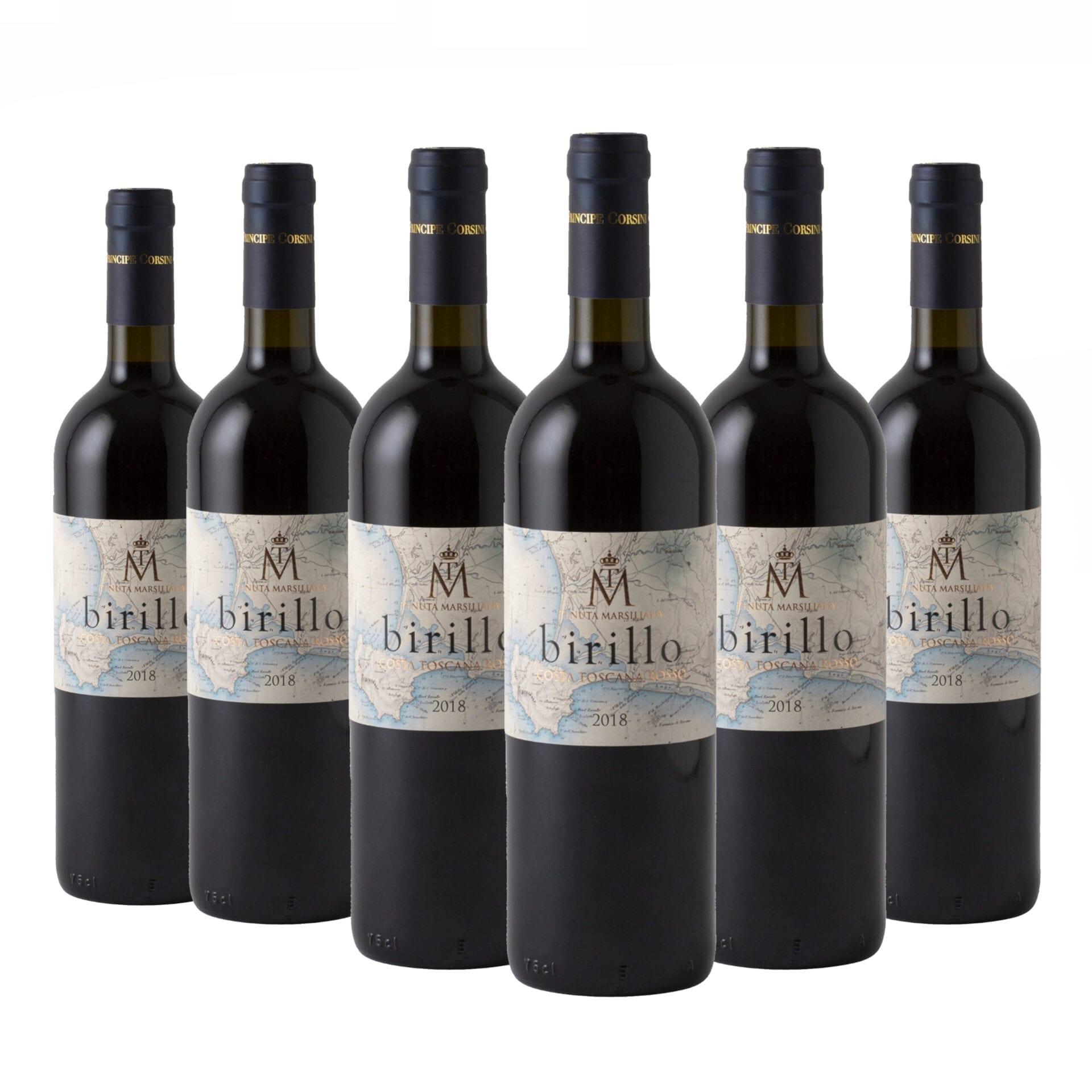 6 x Birillo IGT Costa Toscana