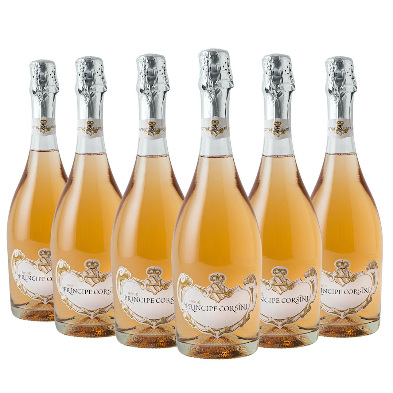 6 x Spumante Rosé Principe Corsini